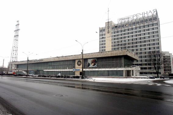 Вокзал и гостиница «Речная»