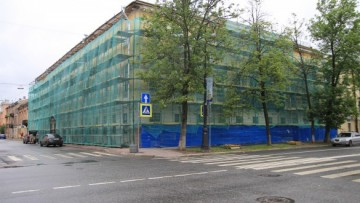 Реставрация домов в центре Кронштадта (1 of 3)