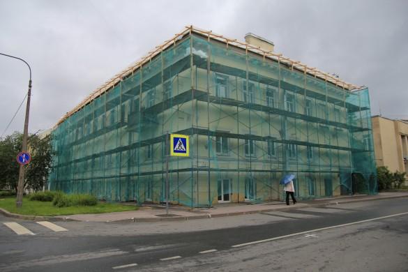 Реставрация домов в центре Кронштадта