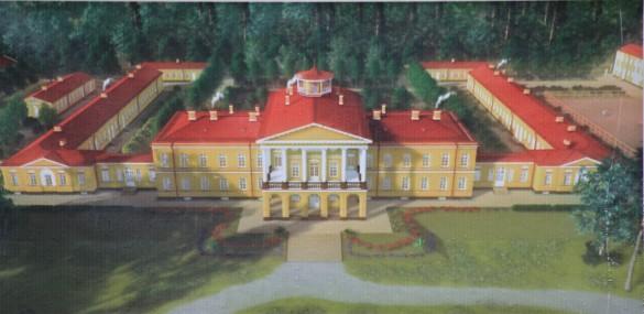 Ропшинский дворец - концепция реставрации