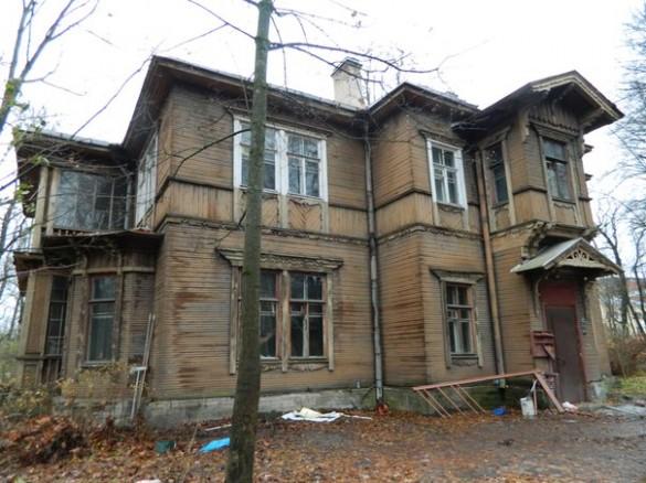 Дача Ростовцевой, Пушкин