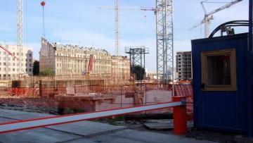 Строительство на улице Шкапина