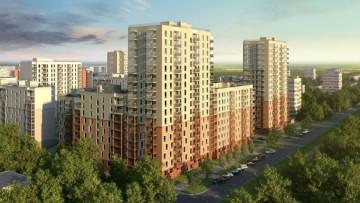 Проект жилого квартала «Сандэй», фасады зданий