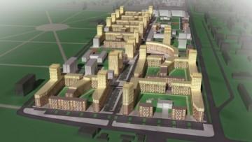 «Сандэй», проект жилого квартала, вид сверху