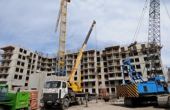 Средний проспект В. О., 89, строительство жилого комплекса Suomi