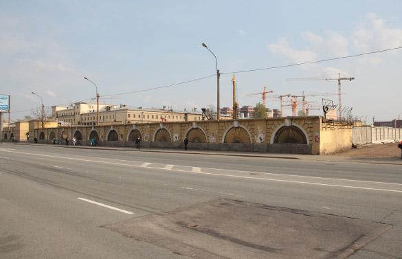 Место строительства жилого комплекса «Тапиола»