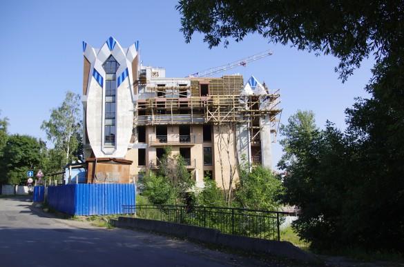 Египетский дом на 1-й Никитинской, 36