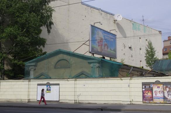 Здание кинематографа «Гранд-палас» на набережной Карповки, 27