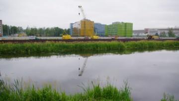Строительство жилого комплекса «Полюстрово»