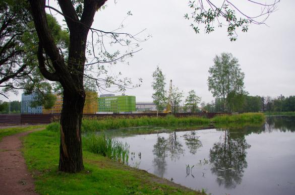 Территория бывшей усадьбы Безбородко на улице Жукова