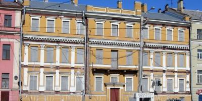 Дом Трезини до реконструкции