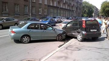 ДТП с иномарками на Петроградке