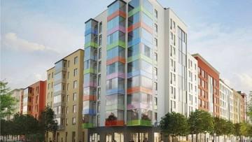 Жилой квартал Астрид в Колпино, проект зданий