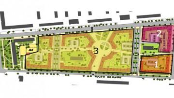 Жилой квартал Астрид в Колпино, план