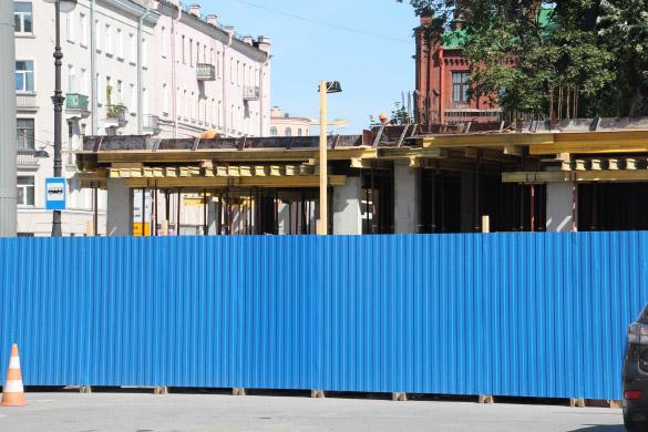 Бизнес-центр на месте касс БКЗ «Октябрьский» на Лиговском проспекте
