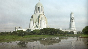 Храм в парке Малиновка