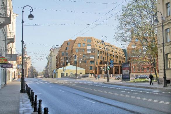 Проект застройки фабрики Мельцера