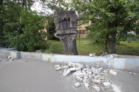 Ограда Боткинской больницы