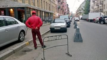 Парковка Мопса на Рубинштейна