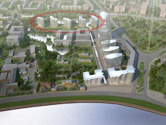 Проект жилого комплекса «Полюстрово»