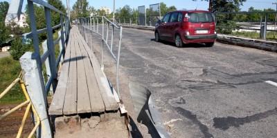 Путепровод на улице Жоры Антоненко в Ломоносове
