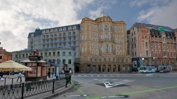 Проект изменения фасада «Регент холла»