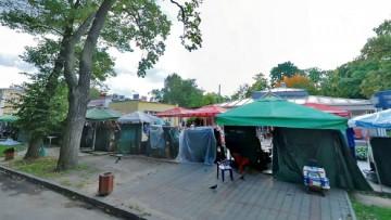 Рынок на улице Морского Десанта в Петергофе