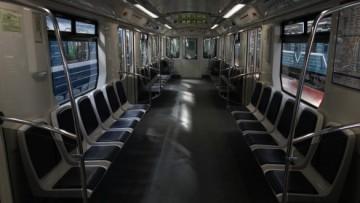 салон поезда Нева