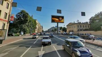 Рекламный экран на Московском проспекте