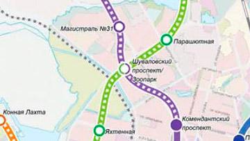 Станция метро «Шуваловский проспект»