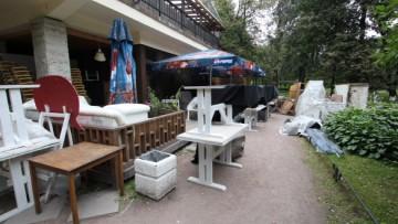 Павильон игротеки в Таврическом саду
