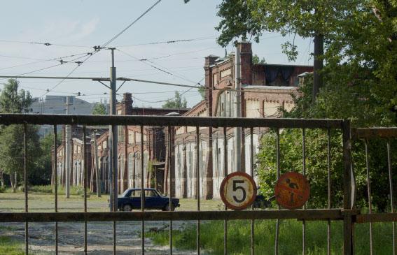 Василеостровский вагонный парк