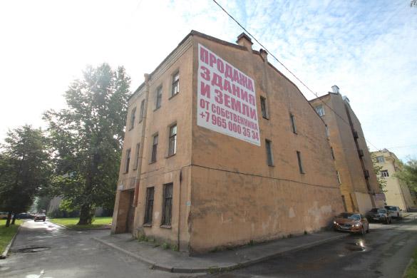 Старинный дом на улице Трефолева