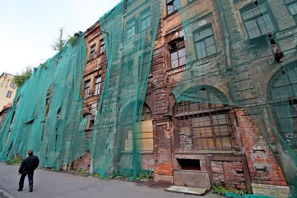 Заброшенный дом в Щепяном