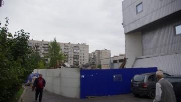 Незаконный ТЦ у «Приморской»