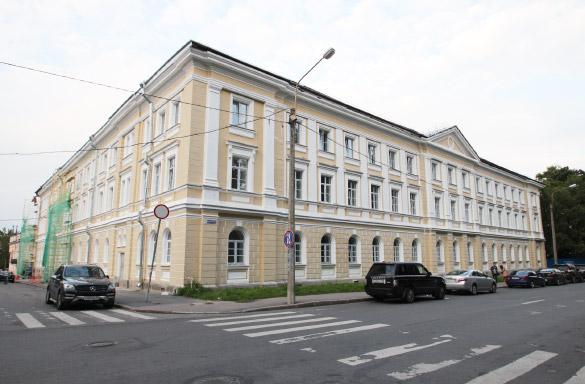 Общежитие Аграрного университета в Пушкине