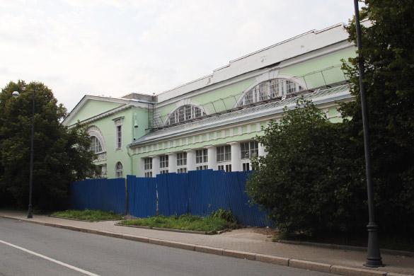 Лабораторный корпус Аграрного университета в Пушкине