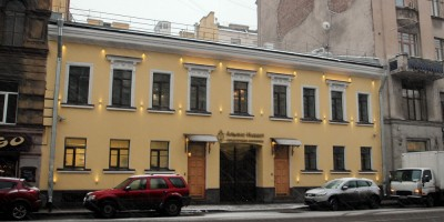 Дом Байбакова на улице Жуковского, 55