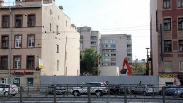 Лиговский проспект, 140, стройплощадка