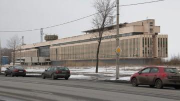 Здание морской академии имени Макарова на Петергофском шоссе