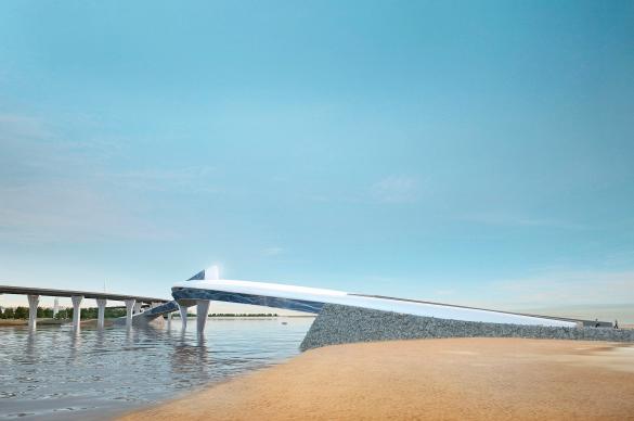 Торговый мост на Крестовский остров
