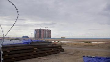 Намыв на Васильевском острове