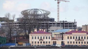 Возведение комплекса «Невская ратуша»