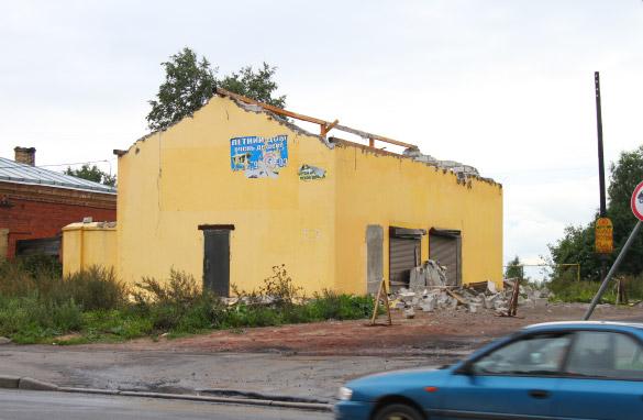 Почтовая станция в Парголове