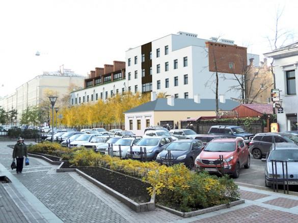 Проект реконструкции здания на улице Правды, 3