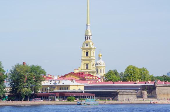 Ресторан у стен Петропавловской крепости