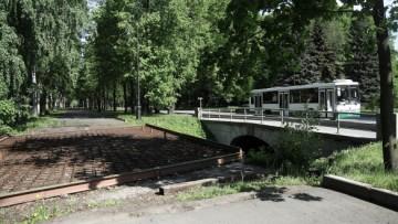 Трамвайный мост на Крестовском