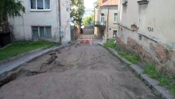 Улица Водной Заставы в Выборге