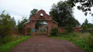 Антониево-Дымский монастырь, поселок Красный Броневик