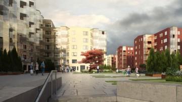 Проект жилого квартала в Гатчине